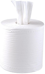 Jantex Centrefeed White Rolls 2ply (Pack of 6)