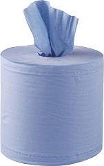 Jantex Centrefeed Blue Rolls 2ply 120m (Pack of 6)