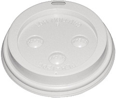 Fiesta Disposable Coffee Cup Lids White 225ml / 8oz (Pack of 50)
